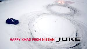 nissan christmas video nissan juke drifts home for chirstmas auto moto japan