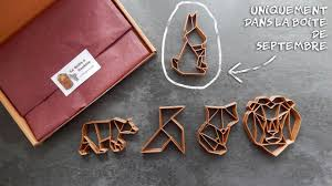 Boite Metal Decorative by September Cookie Cutter Box Origami From La Boite à Cookies Youtube