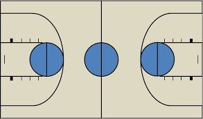 free basketball court diagrams