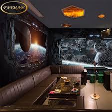 spaceship bedroom custom 3d photo wallpaper science fiction spaceship mural bedroom