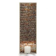 Mosaic Wall Sconce Midas Wall Sconce Candleholders Lanterns Decor Z Gallerie