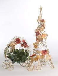 Cinderella Wire Carriage Centerpieces by Pink Cinderella Pumpkin Carriage Coach Centerpiece Girls Bow