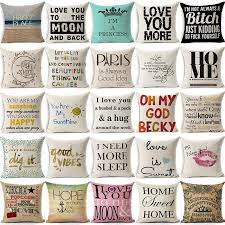 quotes pillows quotes pillows for sale