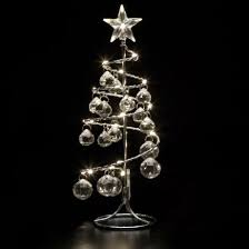 small silver tree with led gem light notcutts notcutts