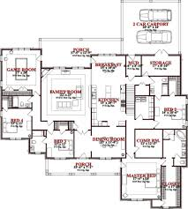 traditional style house plan 4 beds 4 00 baths 4010 sq ft plan
