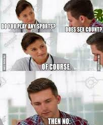 Sex Face Meme Female - does sex count 9gag