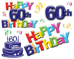 60th birthday sayings 60th birthday clipart