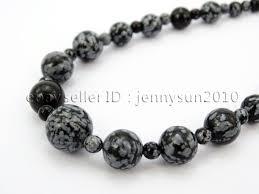 natural beads necklace images Handmade natural gemstone beads 4 12mm graduated adjustable jpg