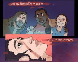 My Heart Will Go On Meme - celine s got nothing on kylo album on imgur