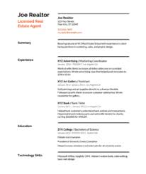 real estate resume templates real estate resume templates sles how to write