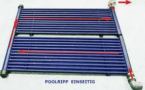 schwimmbecken solarheizung rippenrohr absorber