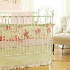 Vintage Style Crib Bedding Floral Baby Bedding Baby Bedding Linen Crib Bedding