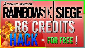 siege free rainbow six siege free r6 credits free operators weapon skins