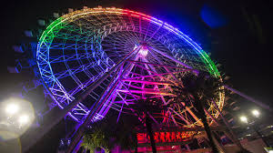 photos orlando lights up in rainbow for pulse anniversary wftv