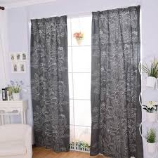 Grey And White Curtains Living Room Gray Grommet Curtains Gray And White Curtains Gray