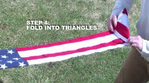 How To Properly Display The American Flag How To Fold An American Flag Youtube