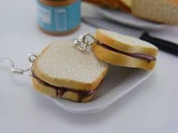 food earrings adorable food earrings nutella sandwich nutella and foods