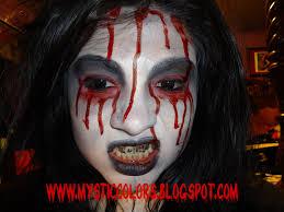 eye luv makeup bloody mary halloween look