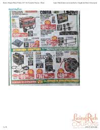 target printable black friday ad harbor freight black friday ad hours u0026 deals living rich with