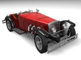 mercedes ssk mercedes ssk 3d model in sport cars 3dexport