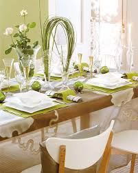 dining room festive christmas dinner table decorating ideas to