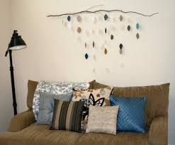 oh write hanging leaves wall art