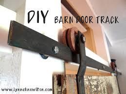 How To Make A Sliding Barn Door by Barn Door Track Hardware How To Barn Door Hardware Barn Doors