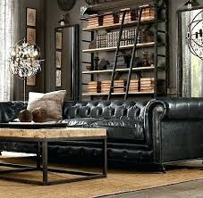Living Room Ideas With Black Leather Sofa Black Leather Couches Decorating Ideas 4ingo