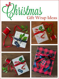 creative gift wrap ideas postcards from the ridge