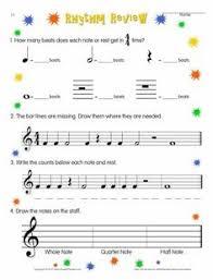 free printable music worksheets at enchantedlearning com music