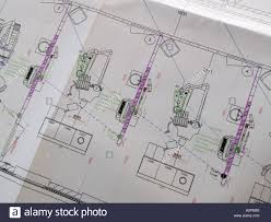 paper construction plan in this case of a dental clinic with