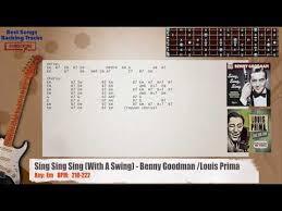 sing sing sing with a swing louis prima sing sing sing with a swing benny goodman louis prima guitar