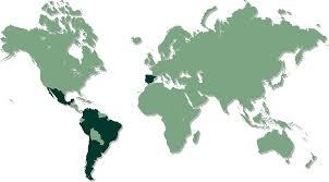 Venezuela Location On World Map by Clarke Modet U0026 Co