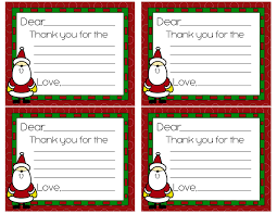 free christmas thank you cards super coupon lady