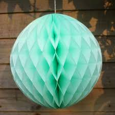 mint green tissue paper mint green tissue paper honeycomb in 3 sizes pipii