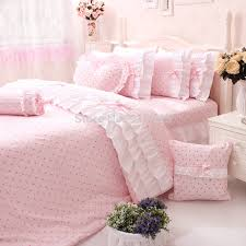 Korean Comforter 2014 New Korean Ruffle Bedding Sets Cute Kids Character Duvet