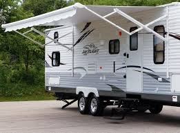 Camper Awnings Replacement Fabric 7 Tips For Keeping Your Rv Awnings In Top Shape Rvshare Com