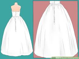 wedding dress bustle 3 ways to bustle a wedding dress wikihow