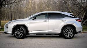 older lexus suvs 2016 lexus rx 350 f sport cuts distinctive line in crossover class