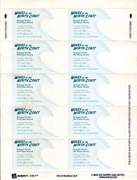 Avery Laser Business Cards Templates Business Card Wide 8 Per Sheet Avery Designs Blank