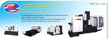 tka co ltd we u0027re a japanese machinery design and manufacturing