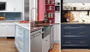 colored cabinets for kitchen most popular kitchen cabinet colors in 2019 plain fancy