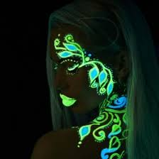 glow paint glow in the and painting set