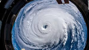 See hurricane florence from space cnn video