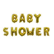 baby shower banner 10pcs baby shower balloons gold silver letters balloon banner baby
