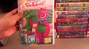 my barney vhs collection youtube