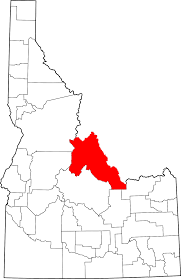 Map Of Idaho Cities National Register Of Historic Places Listings In Lemhi County
