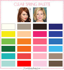 spring color are you a spring winter clear spring 30 something urban girl