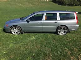 sold 2007 v70r mt electric silver atacama 65k 2nd owner full
