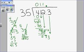 7 6 podcast dividing decimals by whole numbers wmv youtube
